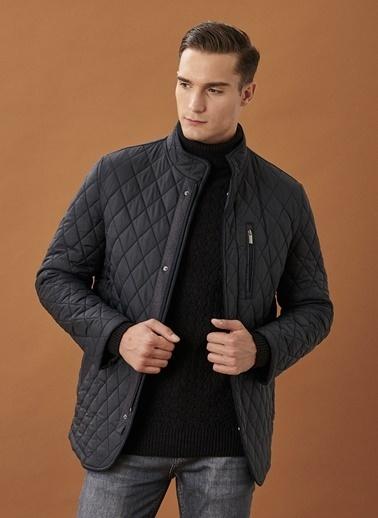 Altınyıldız Classics Standart Fit Soğuk Geçirmez Kışlık Overcoat Mont 4A1021100005 Lacivert